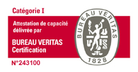 ATTESTATION DE CAPACITE N° 243100